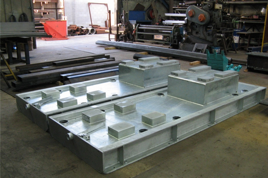 Galvanized Pump Baseplates